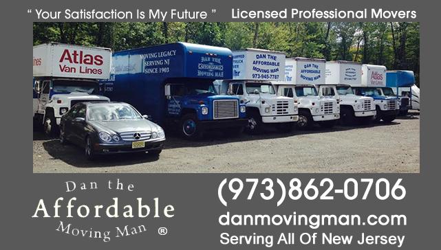 Basking Ridge NJ Licensed Moving Company