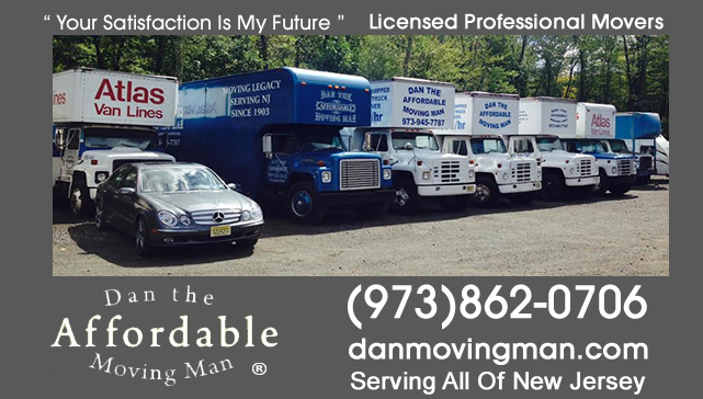 Basking Ridge New Jersey Licensed Moving Company
